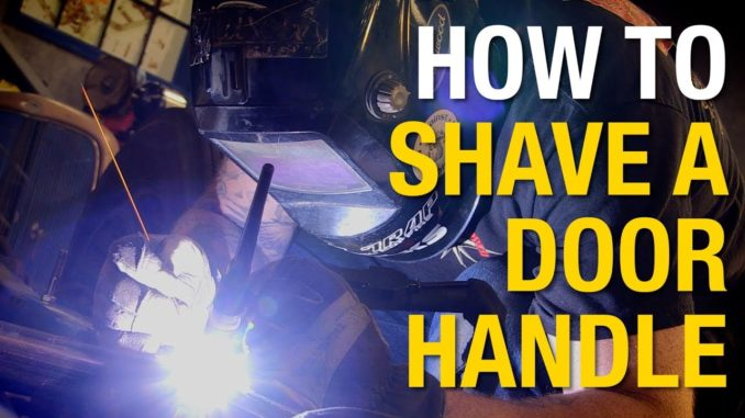 How To Shave Door Handles