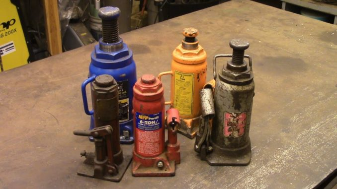 How to Repair a Hydraulic Bottle Jack