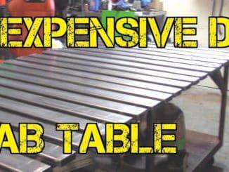 Inexpensive DIY Fab Table