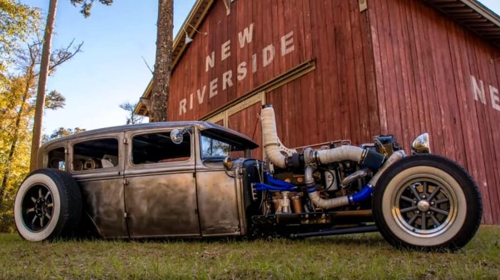 Jasson's 1931 Ford Four Door Cummins Diesel Build