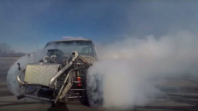 Ken Block Hoonitruck Raw Test SHRED Session!