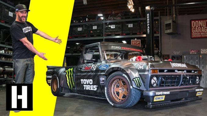 Ken Block's AWD, Twin Turbo, 914hp Hoonitruck is Ready to Party