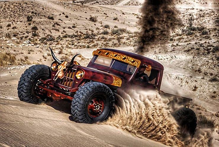 Kenny Hauk's Wild West '48 Willys ~ Hauk .45 Offroad