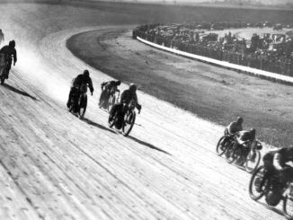 Motorcycle Board Track Racing ~ Los Angeles Motor Speedway, 1921