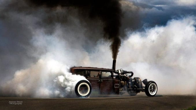 PRIUS REPELLANT ~ 1,000hp Diesel Rat Rod