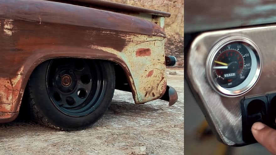 Patina ~ A Bagged '56 Chevy Step Side Truck