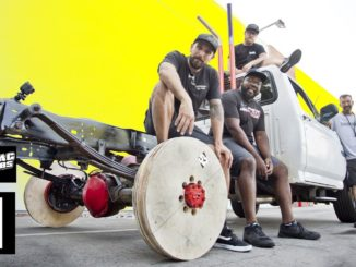 Plywood Wheel Burnouts ~ Will They Catch Fire?