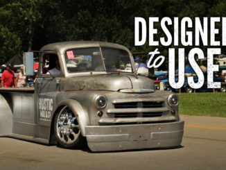 Rustic Nail & Co.'s 1948 Dodge 1-1/2 Ton Pilot House Shop Truck