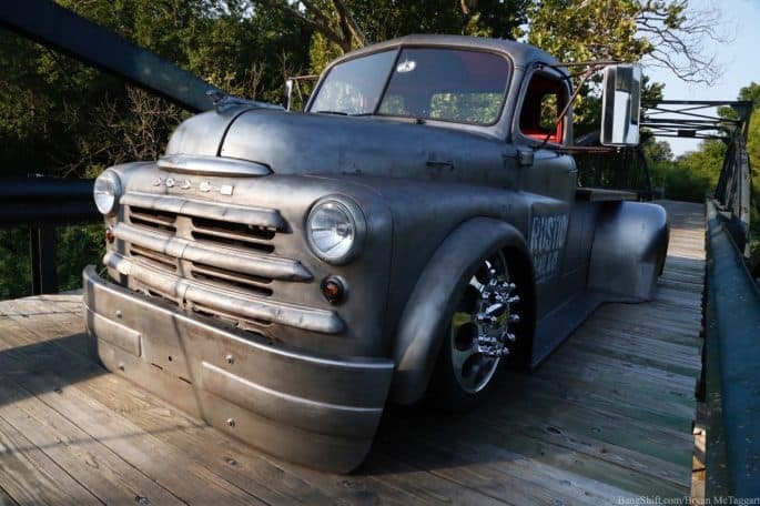 Rustic Nail & Co.'s 1948 Dodge Shop Truck ~ Exterior