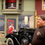 Small Town Custom Built to Display Antique Car Collection