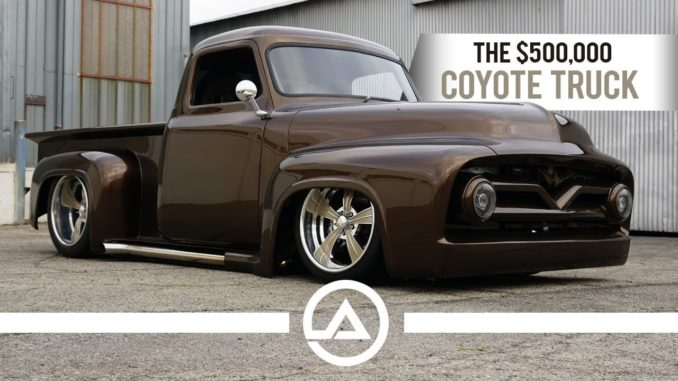 The $500,000 Coyote Truck ~ A 1955 Ford F100