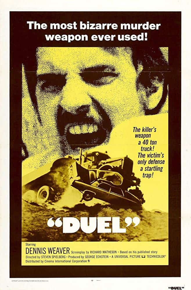 Duel Movie Poster - 1971