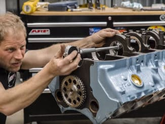 Time-Lapse ~ Pontiac GTO Tri-Power 389 V-8 Engine Rebuild