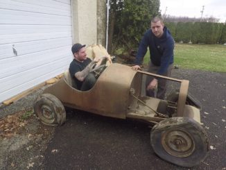 Vintage Homebuilt Model T Speedster Go Kart Find
