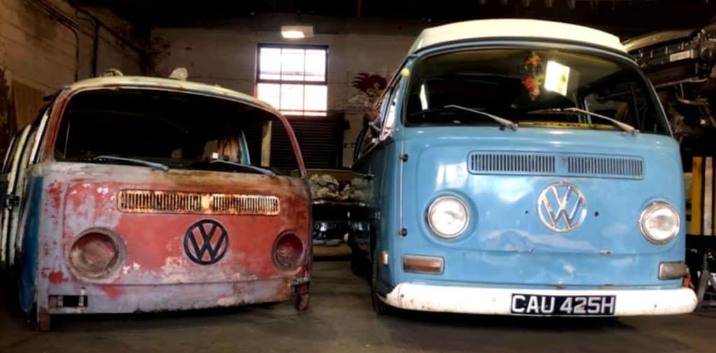 Garage 87's Slammed Baywindow Volkswagen Bus