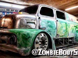 Zombie Body Shop Combines 5 Trucks Into BIG BANDIT