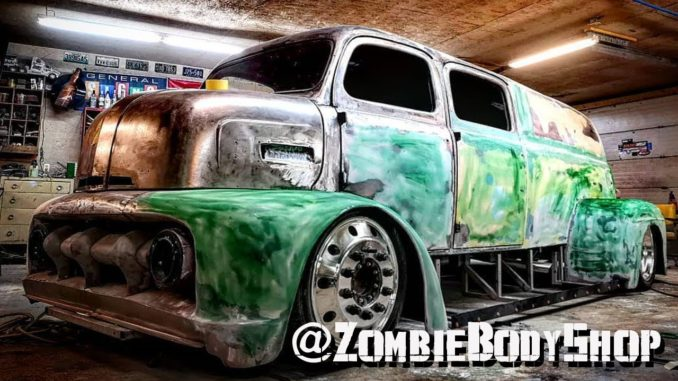 Zombie Body Shop Combines 5 Trucks Into BIG BANDIT