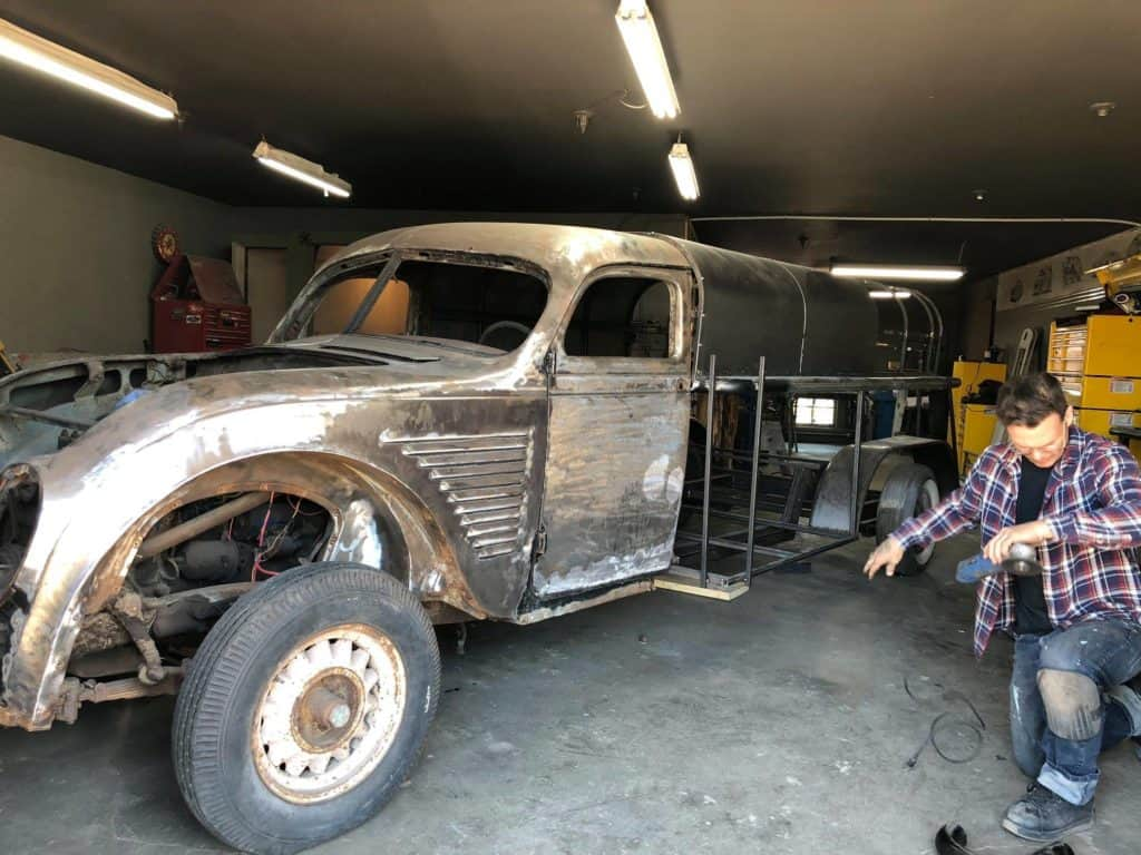 1934 Desoto Airflow by Bad Chad Customs