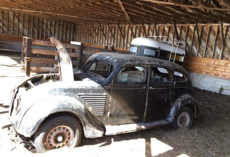 1934 Desoto Airflow by Bad Chad Customs ~ Before