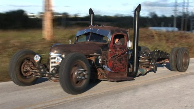 1941 International Cummins Diesel Powered Rat Rod