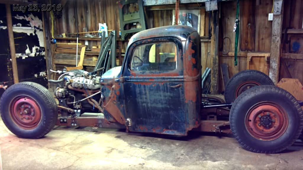 1946 Ford 1 Ton Rat Rod Truck Build