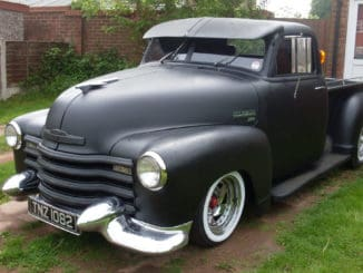 1948 Chevrolet 3100 to Mazda B2200 Chassis / Body Swap