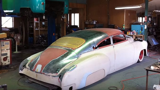 1949 Chevrolet Fleetline Chop Top