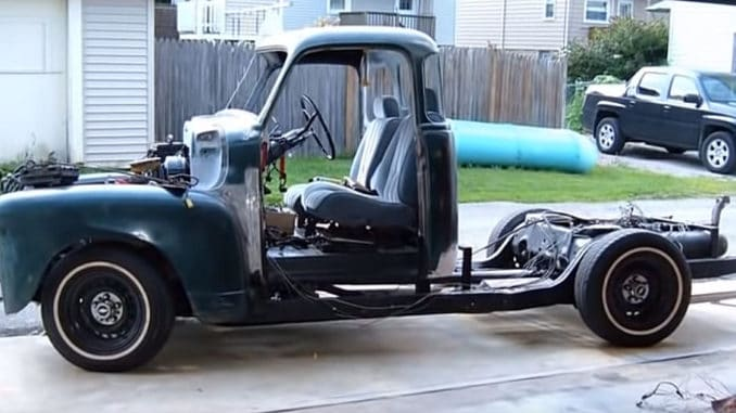 1951 Chevrolet 3100 ~ 1995 Caprice Classic Chassis Swap