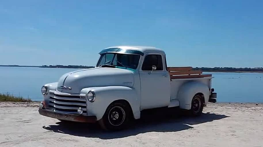 1951 Chevrolet 3100 Pickup ~ 1995 Caprice Classic DIY Chassis Swap