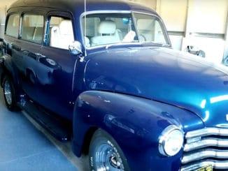 1953 Chevrolet 3100 Suburban Build