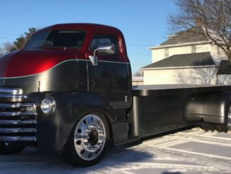 1953 Chevrolet COE Custom Chop Top Truck Build