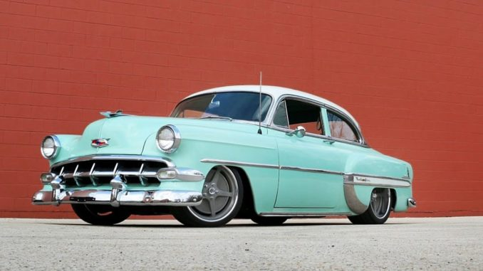 1954 Chevy Bel Air Restomod Build ~ Supercharged LSX 454