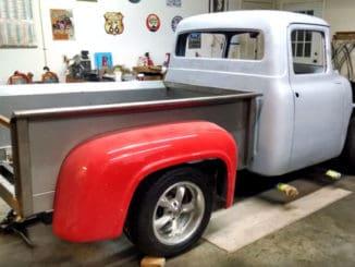 1956 Ford F100 Pickup Truck Build