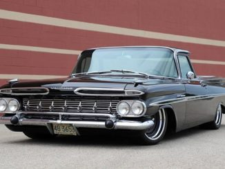 1959 Chevrolet El Camino Sleeper Build