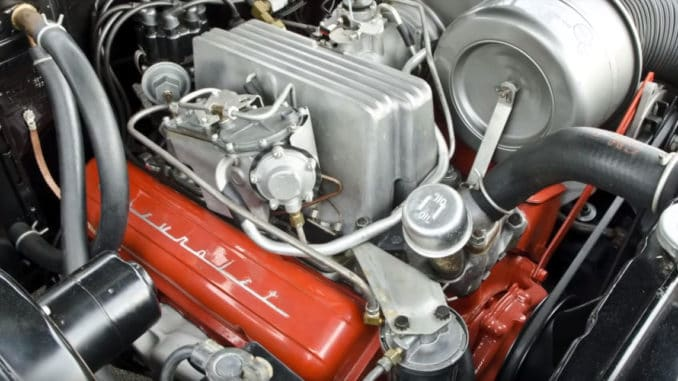 1962-65 Chevrolet Fuel Injected 327 V8 Engine