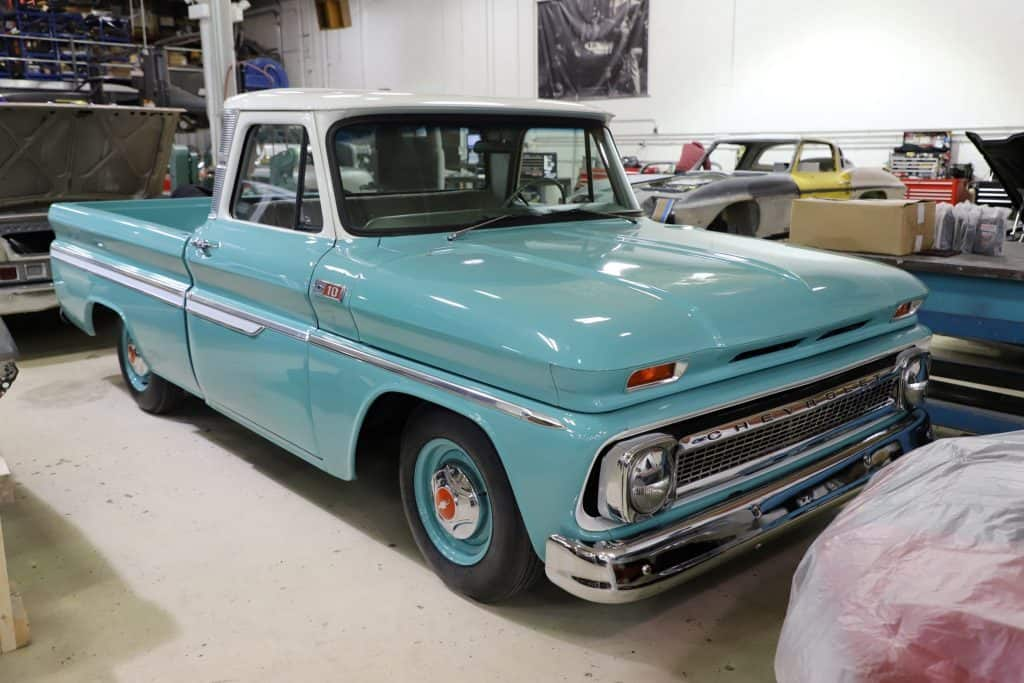 1966 Chevrolet Custom C10 Before Full RestoMod Build