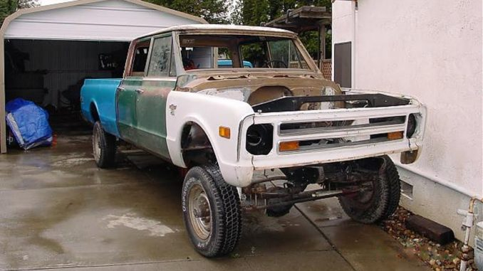 1968 Chevrolet C10 Crew Cab Truck (Re)Build