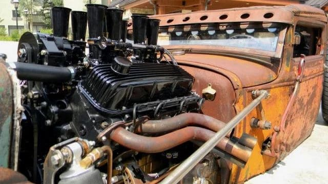 454 CI 1974 Big Block Chevy bored with a torqueplate out to 463 CI that pushes 600 HP