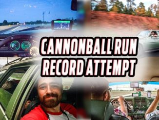 A Cannonball Run Record Attempt in a 47 Year Old Station Wagon