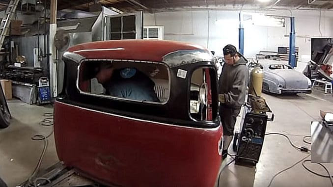 DIY 1947-53 Chevrolet Truck 3 to 5 Window Conversion