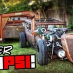 Diesel Rat Rod Gooseneck Hauler Pushes Over 100psi