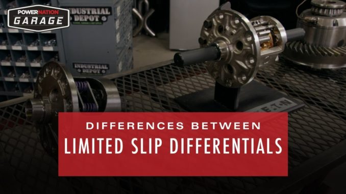 Differences Between Limited Slip Differentials