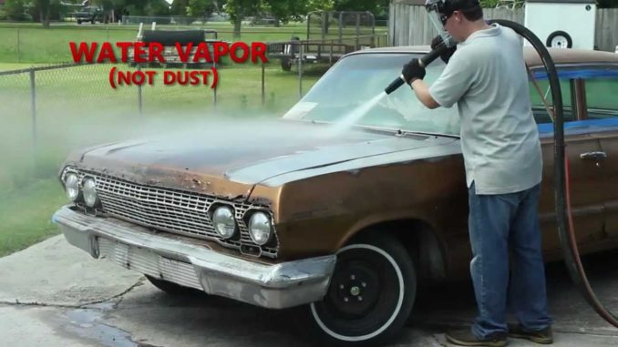 Dustless Blasting Strips a 1963 Impala in Under an Hour