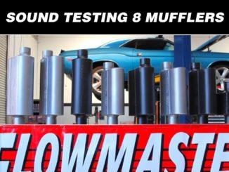 Flowmaster's 8 Hottest Mufflers ~ Sound Test