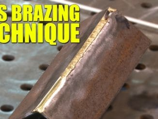 Gas Brazing Technique