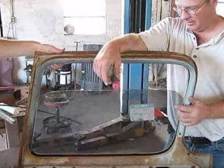 How To Install One-Piece Door Glass in 1955-59 Chevy & GMC Trucks