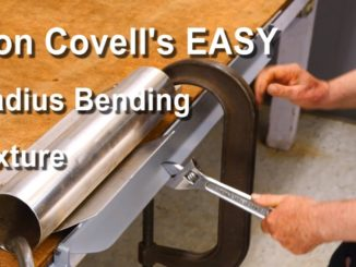 How To Make a Radius Bending Fixture for Sheet Metal