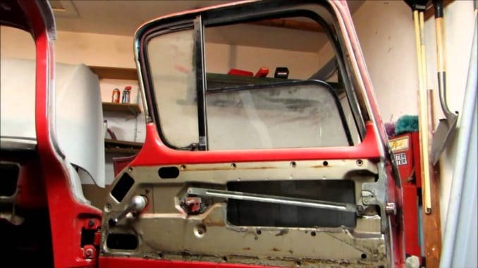 How To Remove Side Window and Vent Assembly from 1955-59 GM Trucks