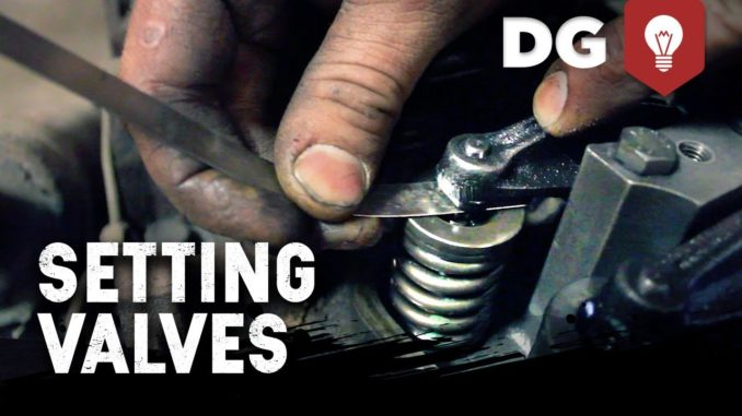 How To Set Valve Lash On A Diesel Engine