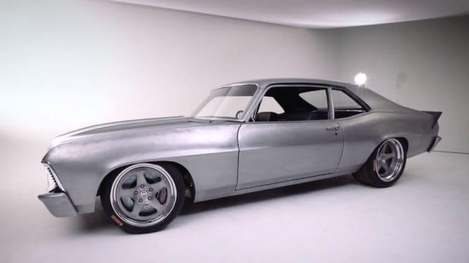 Joe Rogan's New 1969 Nova ~ Metal Work and Body Design